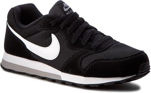 Cipők NIKE - Md Runner 2 (GS) 807316 001 Black White Wolf Grey ... d7884140a0