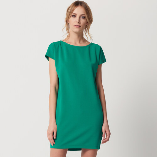 1cf6402792b5 Mohito - Šaty z rebrovaného úpletu - Zelená - Glami.sk