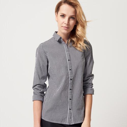 Mohito - Vypasovaná košile z bavlny - Černý - Glami.cz 85ddcb4624