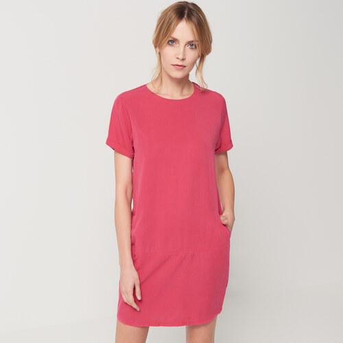 Mohito - Šaty s kapsami - Růžová - Glami.cz 94e6d3cc9b2