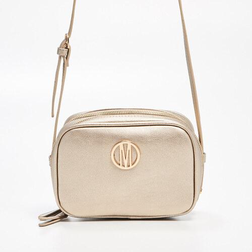 25716b76bc Mohito - Malá kabelka s dlhým remienkom - Zlatá - Glami.sk
