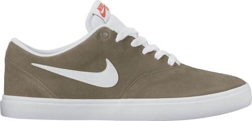 Pánské tenisky Nike SB CHECK SOLAR KHAKI WHITE - Glami.cz 4a07a273ab