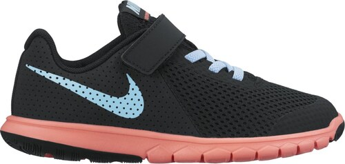 a6976daef80 Dětské tenisky Nike FLEX EXPERIENCE 5 (PSV) BLACK STILL BLUE-LAVA GLOW
