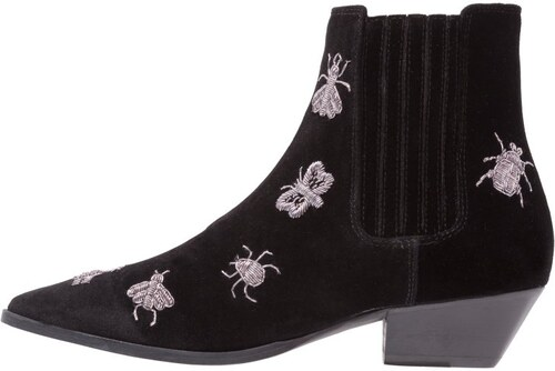 Buffalo 30761 Mestico, Chelsea Boots Femme, Noir (Chiara 01), 37 EU