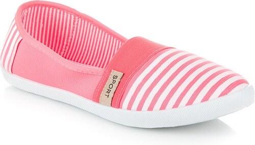 bab60dede746 Ľahké športové balerínky v ružovej farbe - Glami.sk