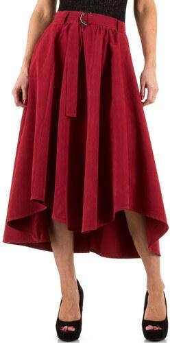 3bfa14627946 Skladaná dlhá dámska sukňa červená - Glami.sk
