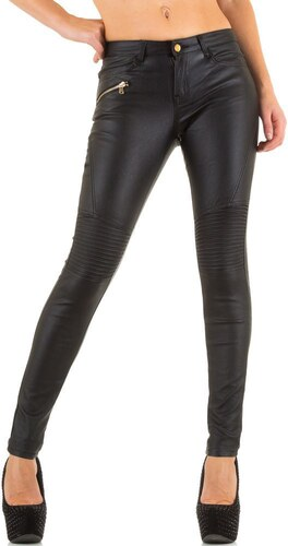 0e048108f452 Dámske čierne úzke štýlové nohavice - Glami.sk