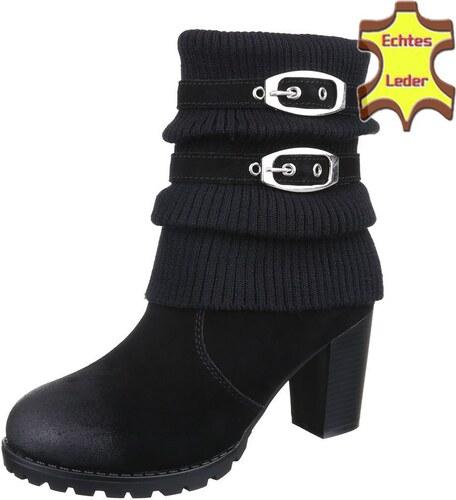 bad87645af84 Dámske sexy kotníkové topánky pre moderné ženy - model Zdenička 07 kožené