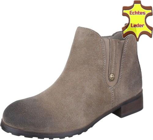8679222643b5 Dámske sexy kotníkové topánky pre moderné ženy - model Zdenička 08 kožené  khaki