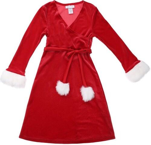 e862fdecfdf8 Luxusné detské šaty pre dievčatá od Bonnie Jean - červená farba ...