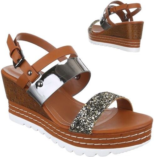 270376e081b8 Dámske moderné sandále pre príjemnú chôdzu - model sasenka 09 - Glami.sk