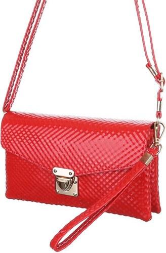 e248d640c8 Dámska mini kabelka cez plece - červená farba - Glami.sk