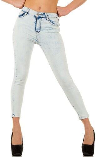 Jesica dámské džíny úzké světle modré barvy - KL-J-A-427-L.blue ... 73afa3936d