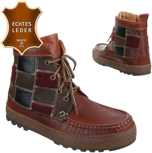 9c8c4a603c20 Vyššia pánske extravagantné topánky so šnúrkami z pravej kože - model  FOREST 01