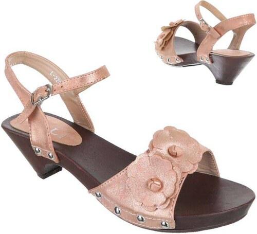f485a714b22c Princeznovské detské sandále pre dievčatá - model jazmín 04 - Glami.sk