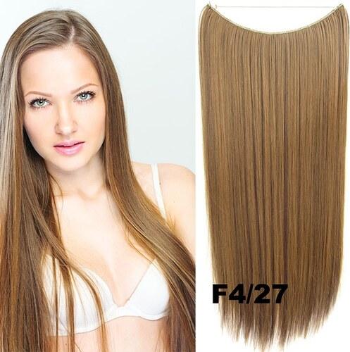 Flip in vlasy - 55 cm dlouhý pás vlasů - odstín F4 27 - Světové Zboží b6b9e75cd0