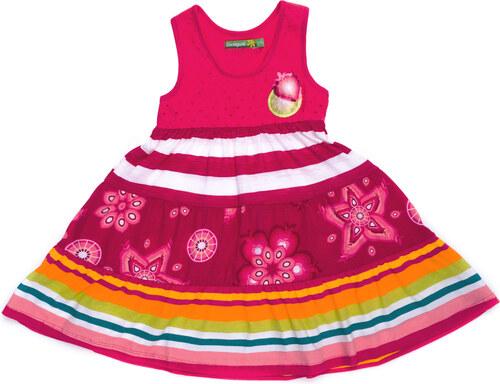 Desigual Kampala Šaty detské Ružová Viacfarebná - Glami.sk e23f2d1c479