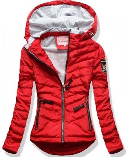 Dámská jarní podzimní bunda Philly červená - červená - Glami.cz f6fd20e9ff7