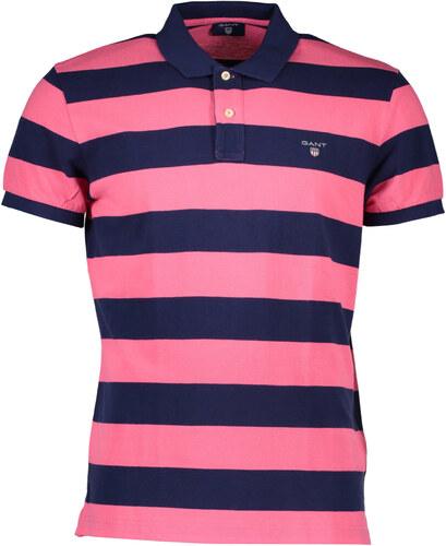 Pánské polo tričko Gant - Růžová   S - Glami.cz b60a44898e