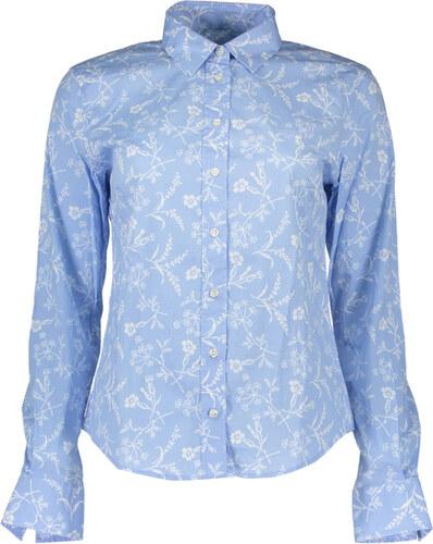 Dámská košile gant - Azurová   48 - Glami.cz 9a61c6b29c