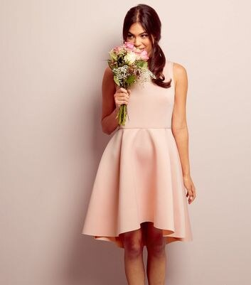 Look robe rose pale