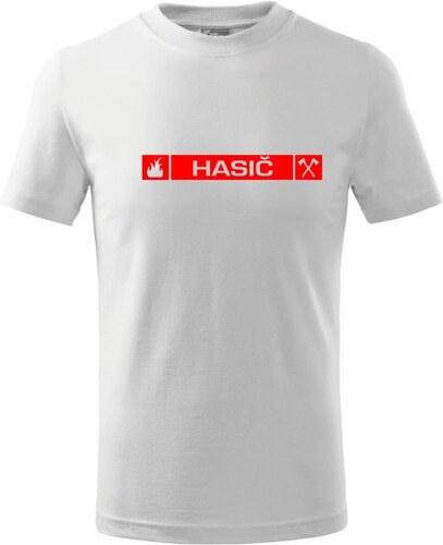 6557677cd0f Myshirt.cz Hasiči přední znak - Triko dětské basic - Glami.cz