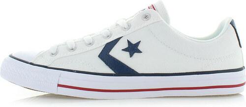 Converse Pánske biele nízke tenisky Chuck Taylor Star Player OX ... 8dd56a78673