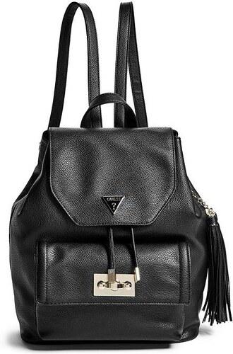 6c78621320e GUESS Dámský batoh Remy Backpack - black - Glami.cz