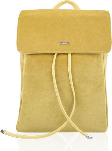 375cdcf3699 FELICE Žltý batoh Backpack LAGO (FB07- yellow) odtiene farieb  žltá ...