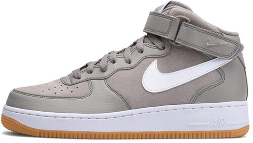 sports shoes 86802 bb578 Nike Air Force 1 Mid `07 Shoe Light Taupe White Gum Brown 315123-204