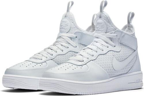 Nike Air Force 1 Ultraforce Mid Shoe Pure Platinum White 864014-002 ... fb1c5b53560