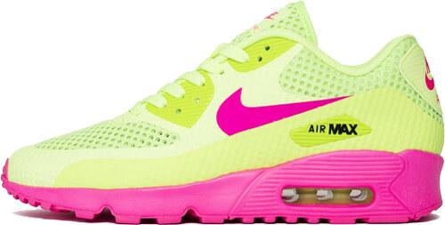 best service a5e1c 9f2e5 Nike Air Max 90 BR (GS) Ghost Green Pink Blast Black 833409-300