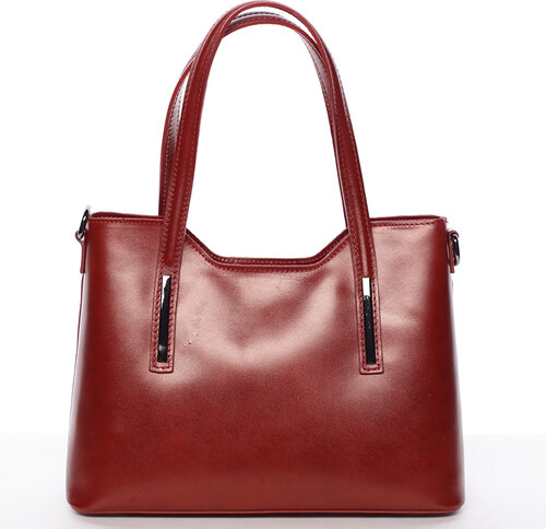 Delami Vera Pelle Elegantní kožená dámská kabelka Caitlin df2883f4289