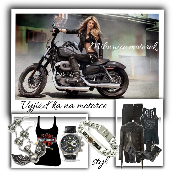 Vyjížďka na motorce
