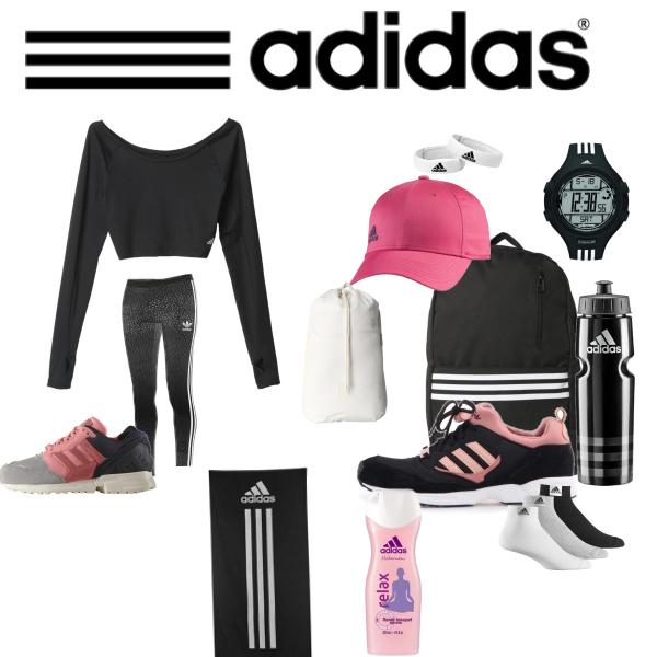 Adidas od hlavy až k hlavě