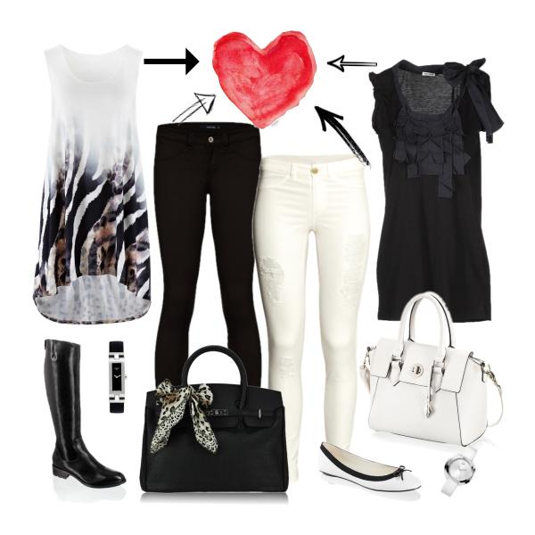 Love black-and-white