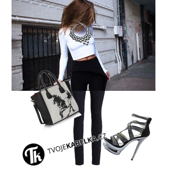 Outfit na black and white party s LS FASHION