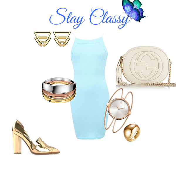 Stay Claasy with the light blue sky