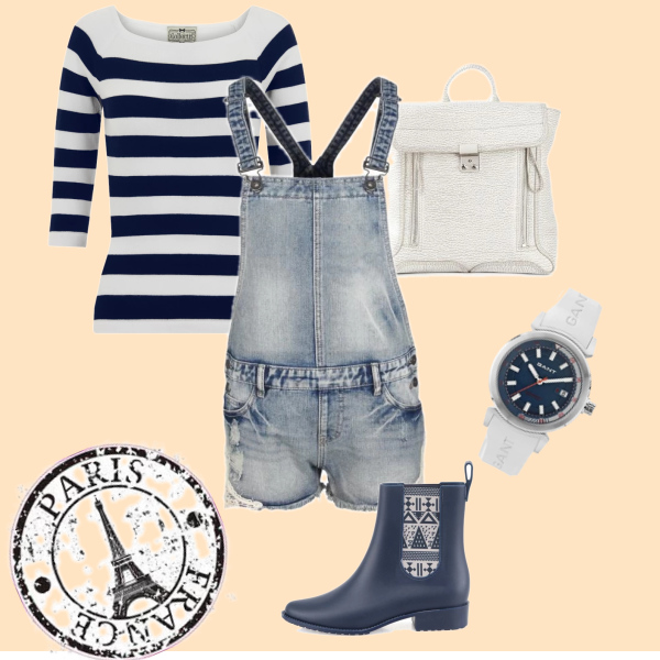 outfit to town