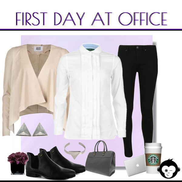 First day at office