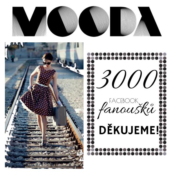 3000 FB fans, slavíme! :-)