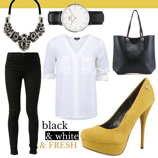 Black & white & fresh!