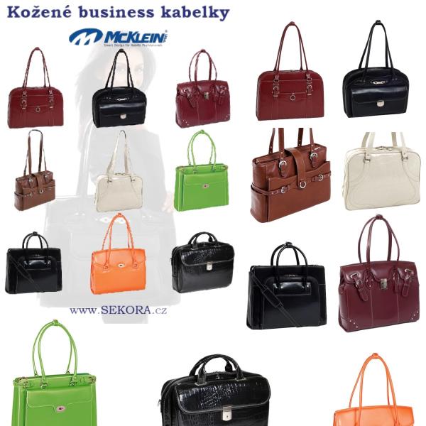 Kožené business kabelky