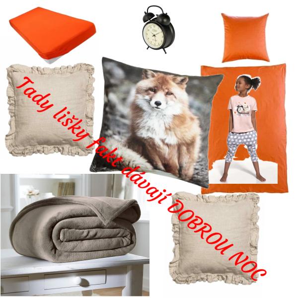 Dobrou noc od chytré kmotry lišky