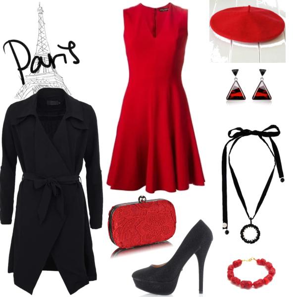 pařížský outfit