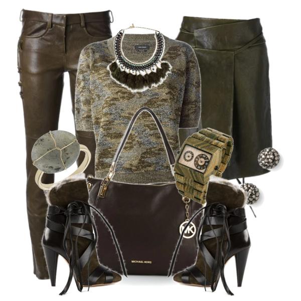 Maskáčový a army styl