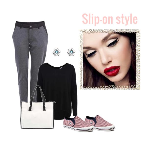 slip-on style