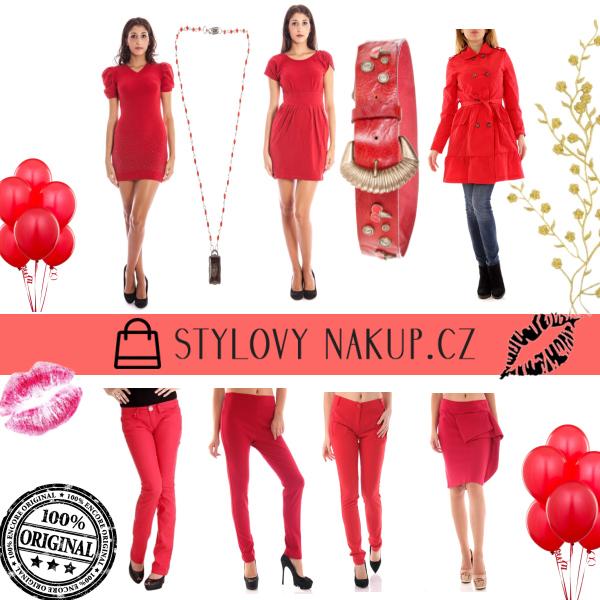 Červená kolekce - Stylovynakup.cz