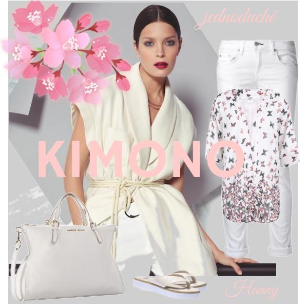S čím nosit kimono?