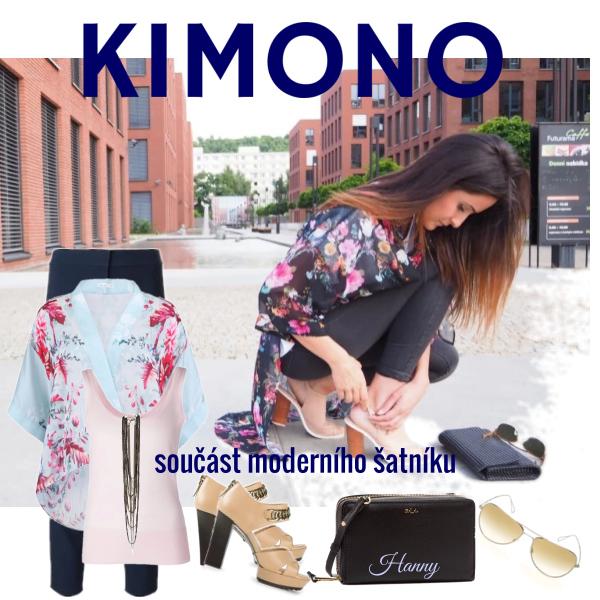 Kimono, součást moderního šatníku..